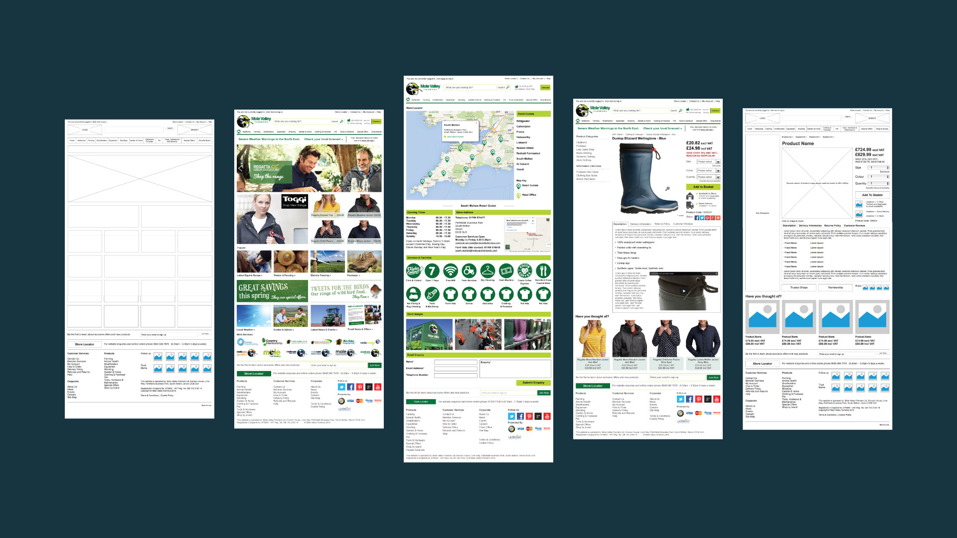 Mole Valley Farmers Website Design Case Study